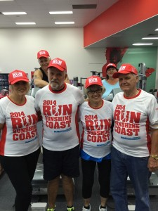 The Jolly Gerries are in training mode for the Run Sunshine Coast
