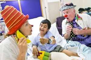 Clown Doctors.  Photo supplied by The Humour Foundation.
