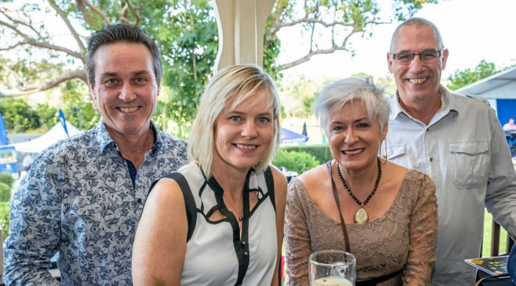 Andrew and Michelle Dunkley, Jo and Josef Zopf - Pic courtesy of The Gympie Times.